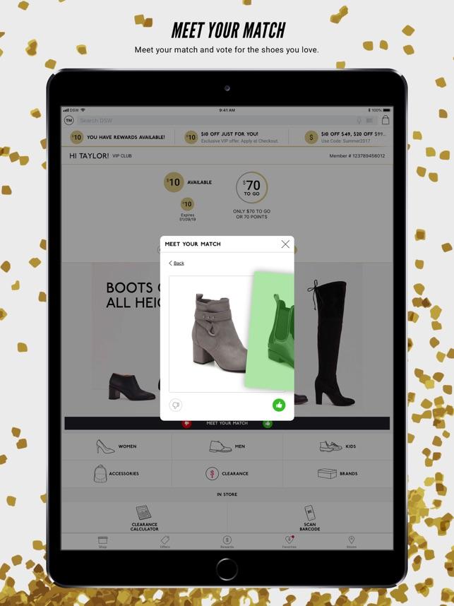 b94cacfad68  DSW Designer Shoe Warehouse on the App Store