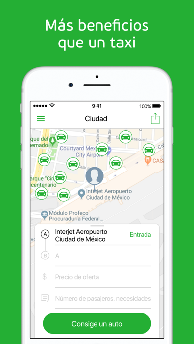 Screenshot for inDriver: alternativa de taxi in Venezuela App Store