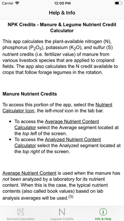 NPK Credits screenshot-4