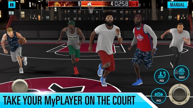 NBA 2K Mobile Basketball screenshot-3