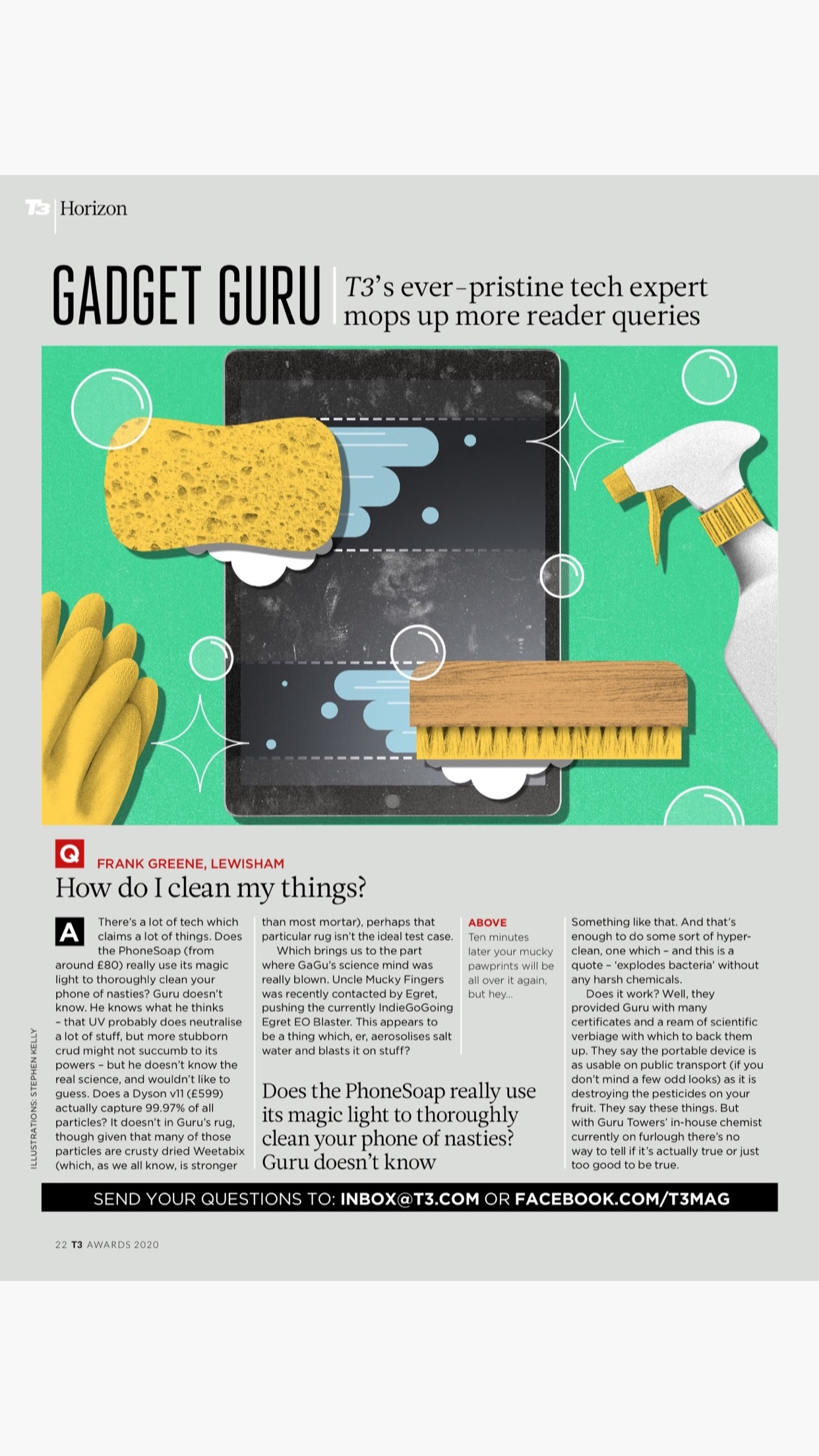 T3 Magazine for iPad & iPhone Screenshot