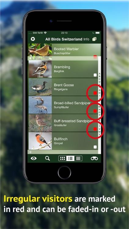 All birds CH - photo guide screenshot-5