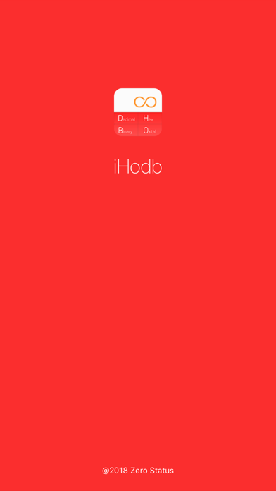 iHodb - number convert tool. screenshot one