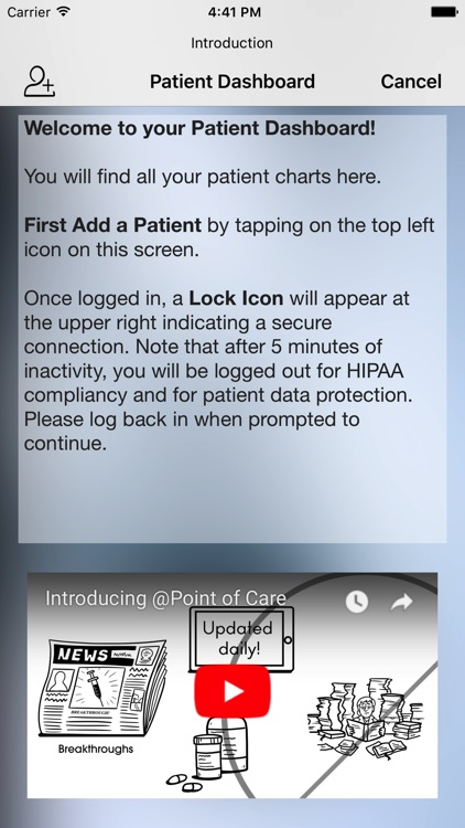 Cystic Fibrosis @Point of Care screenshot-5