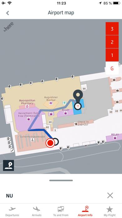 Berlin Airport (SXF/TXL) screenshot three