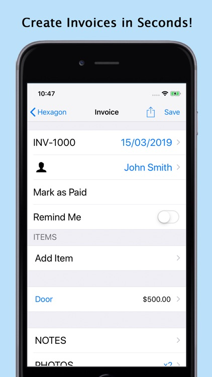 xInvoice - Easy Invoice by MARK MANSER