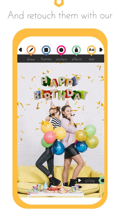Happy Birthday Video Maker gif screenshot-3