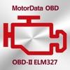 MotorData OBD車診断。ELM OBD2スキャナ