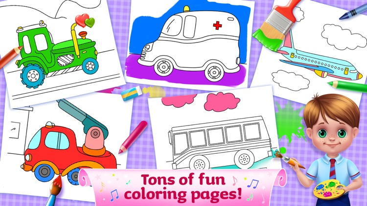 The Wheels on the Bus Songs screenshot-3