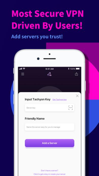 Tachyon VPN - Private Proxy #4
