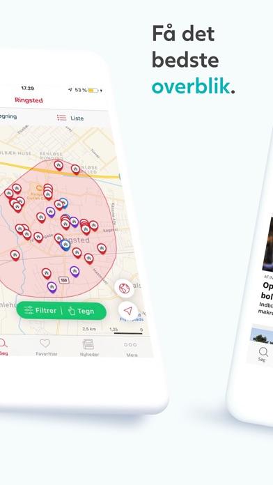 Screenshot for Boligsiden in Denmark App Store