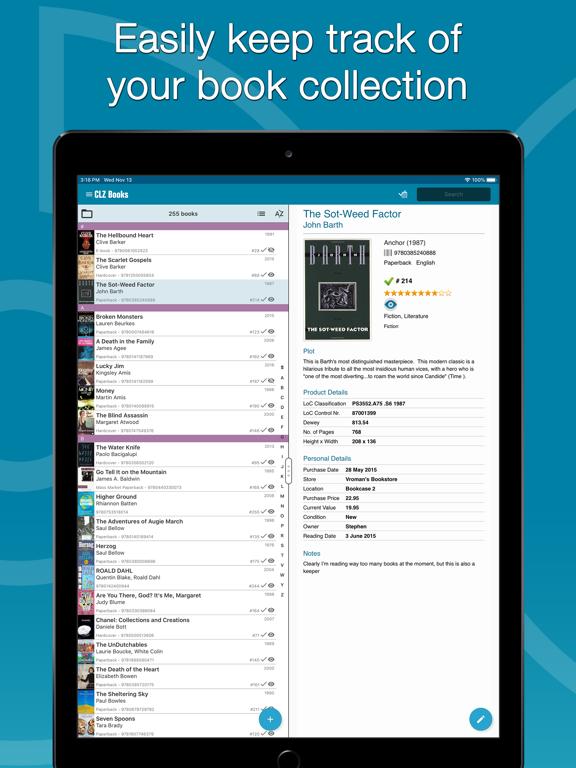 Screenshot #4 pour CLZ Books - Book Database