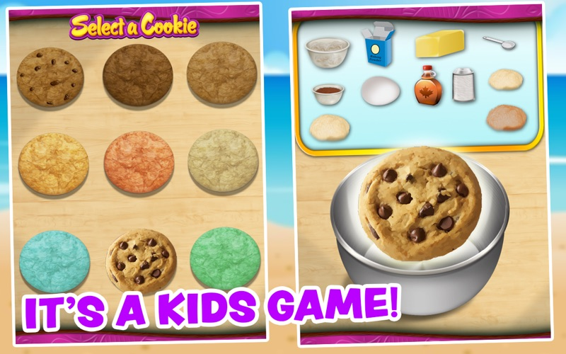 Cookie Maker For Kids screenshot 2
