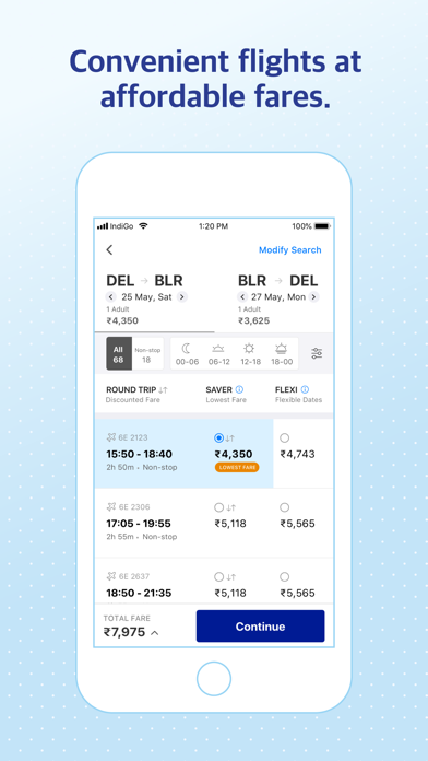IndiGo | Flight Booking App screenshot two