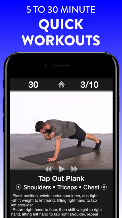 Daily Workouts review screenshots
