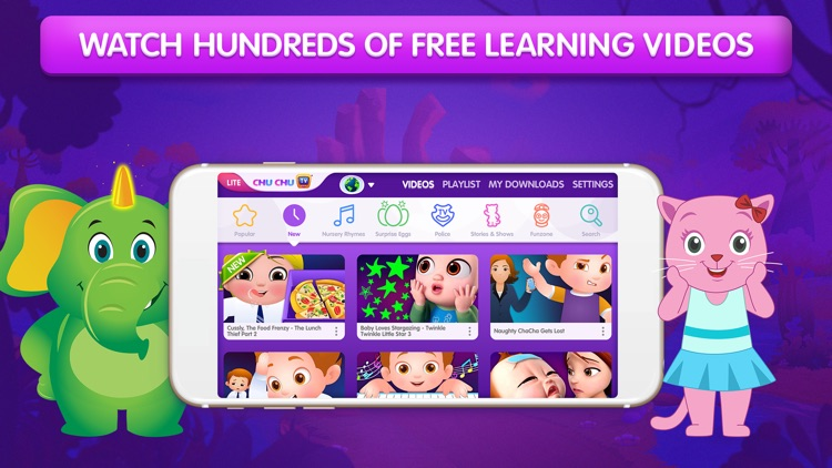 ChuChu TV Nursery Rhymes Lite screenshot-0