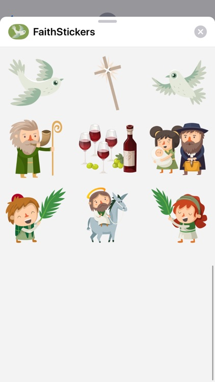 Faith Stickers for iMessage