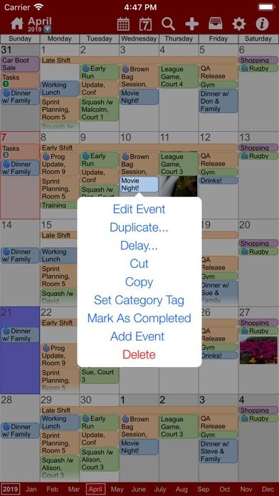 Screenshot #2 pour myCal PRO: Calendar & Events