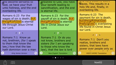 WAVE Parallel Bible screenshot two