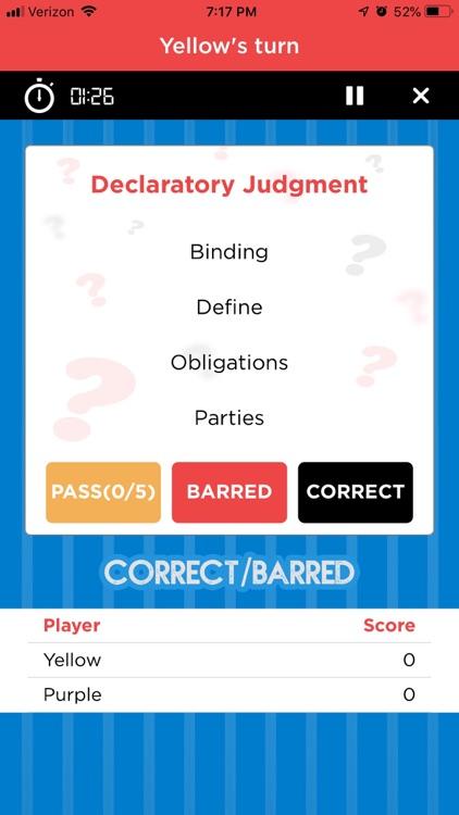 BARRED Bar Exam Prep Game screenshot-4