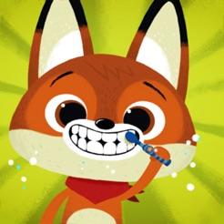 WoodieHoo Brushing Teeth