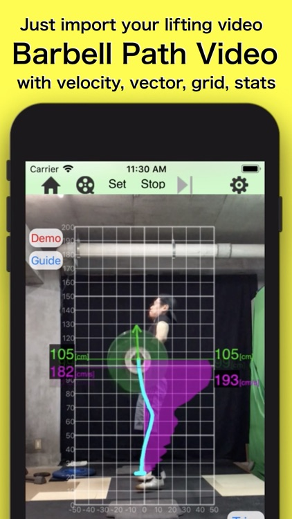 Barbell tracker GT screenshot-0