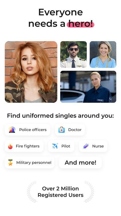 Uniform Dating: Meet Your Hero screenshot-0