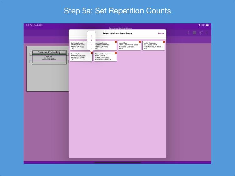 Addressed Envelope Designer screenshot-4