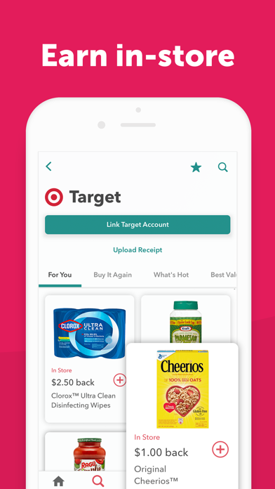 Ibotta - Cash back Coupons – Shopping Deals, Discounts and Promos on Grocery, Clothing and more. screenshot