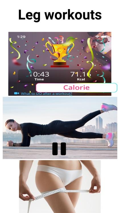 Leg Workouts - Lower Body Burn screenshot-8