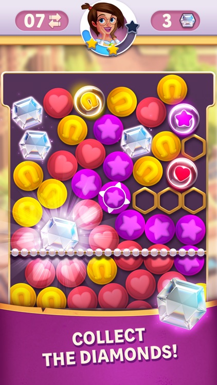 Diamond Diaries Saga screenshot-0