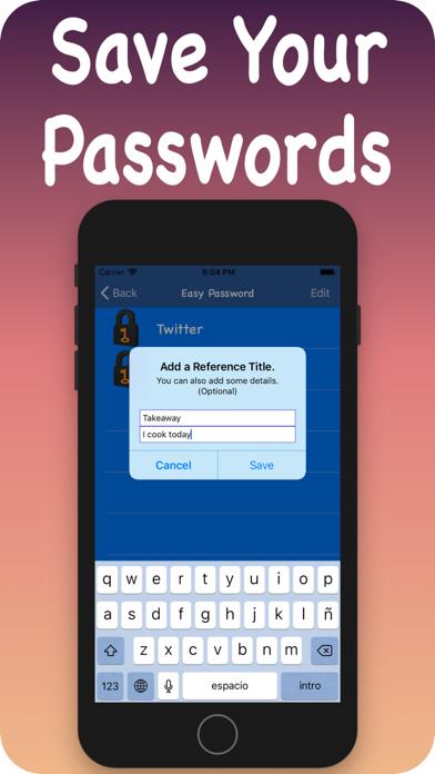 Passwords Sorted screenshot 4