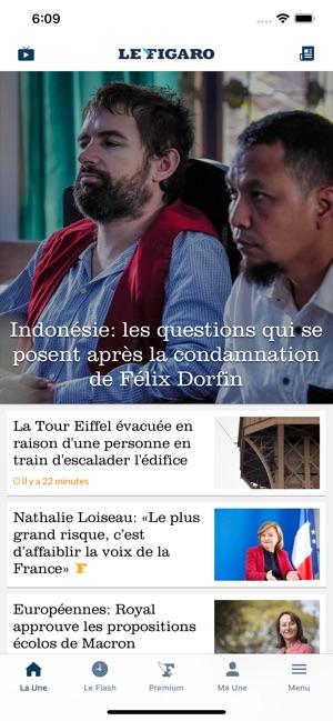 ba44205294 Le Figaro : Actualités et Info dans l'App Store