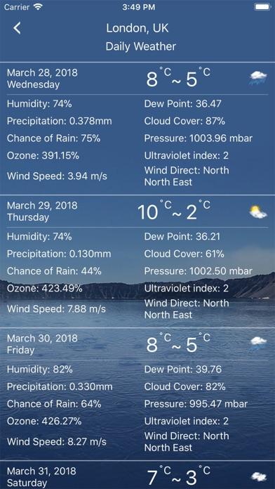 Weather : Weather forecast Pro Screenshot