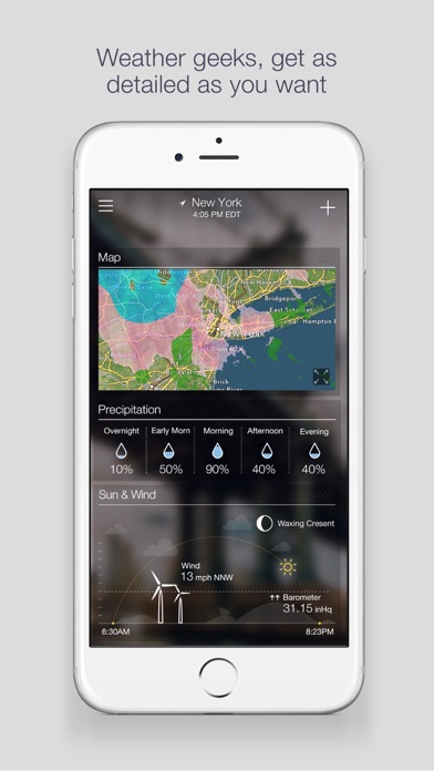 Screenshot for Yahoo Weather in United States App Store