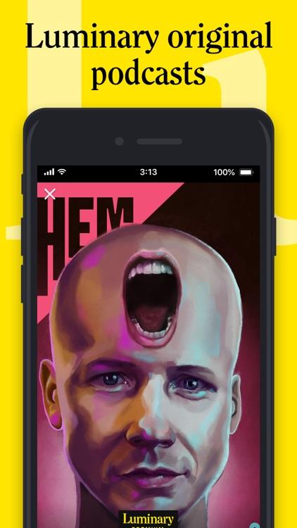 Luminary - Premium Podcast App screenshot-0