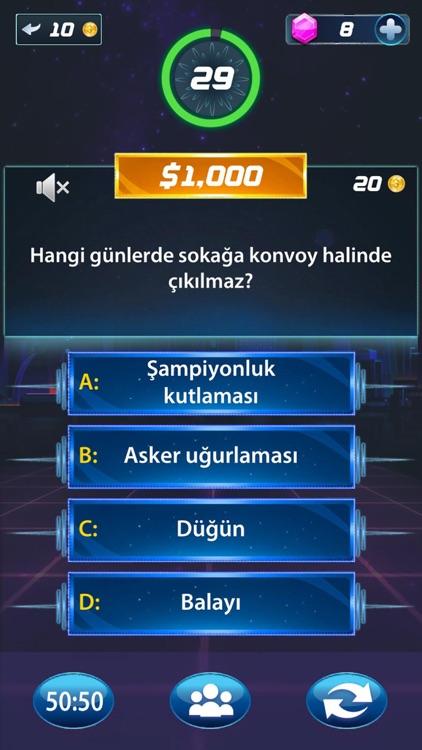Milyoner 2020 Bilgi Yarışması screenshot-4