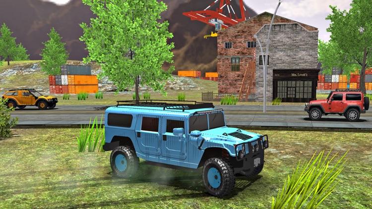 6x6 Offroad Truck Driving Sim screenshot-3