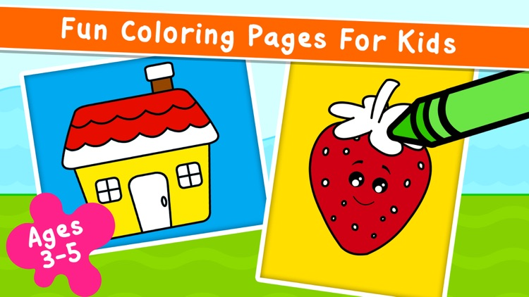 Kidlo Coloring Games for Kids screenshot-0