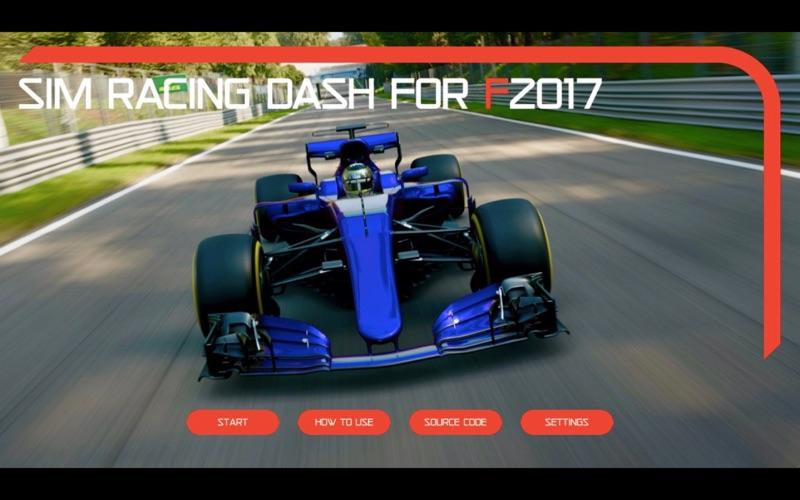 Sim Racing Dash for F2017 screenshot 1
