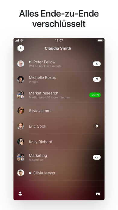 Screenshot for Wire • Sicherer Messenger in Germany App Store