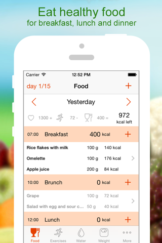 Lose Weight - Calorie Counter - náhled