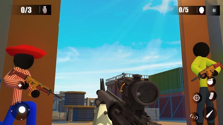 Epic Army Stickman Survival screenshot-3