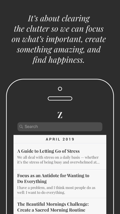Zen Habits by Leo Babauta
