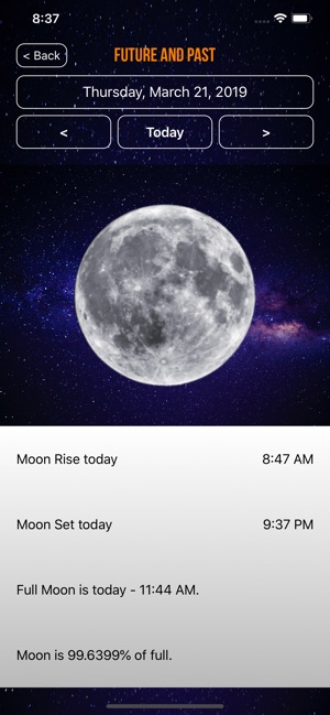 d61a3828f Moon Phase Calendar Plus on the App Store
