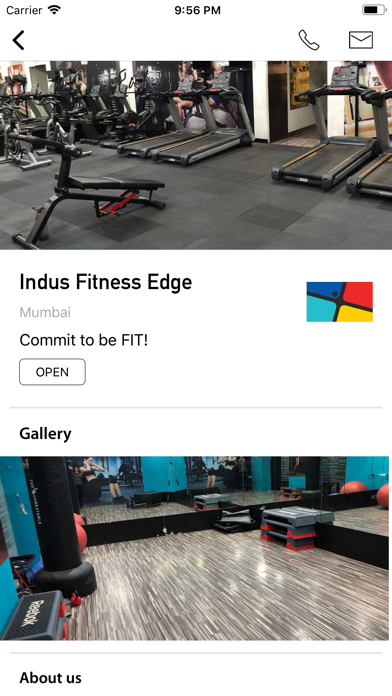 Indus Fitness Edge screenshot 1