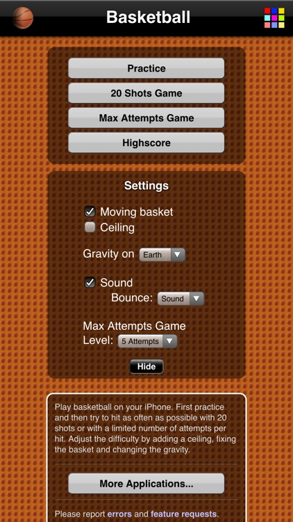 Basketball Game screenshot-3
