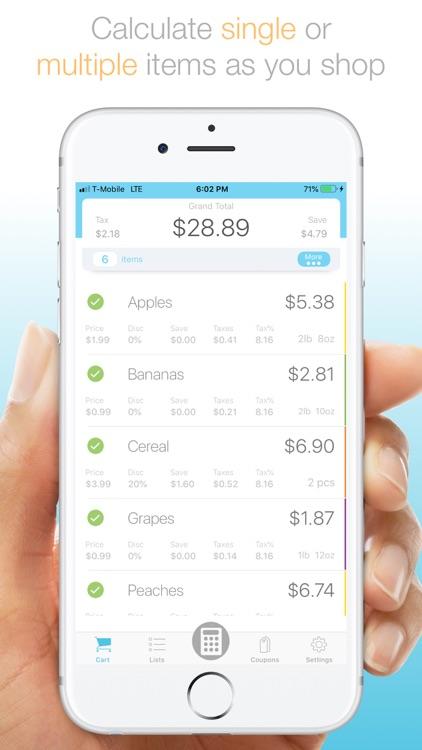 Total Plus-Shopping Calculator screenshot-0