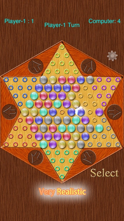 Realistic Chinese Checkers screenshot-4