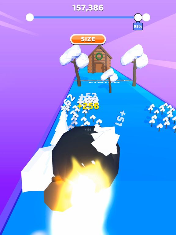 Rolling Snow! screenshot 6